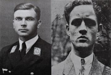 Alwin Ahlbory (l.) und Fritz Stasch