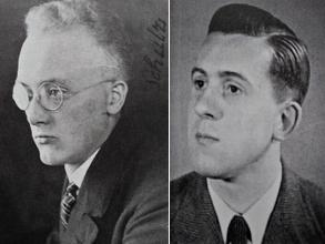 Erhard Schulz (l.) und Walter Schmidt engagierten sich in der Bekennenden Kirche.