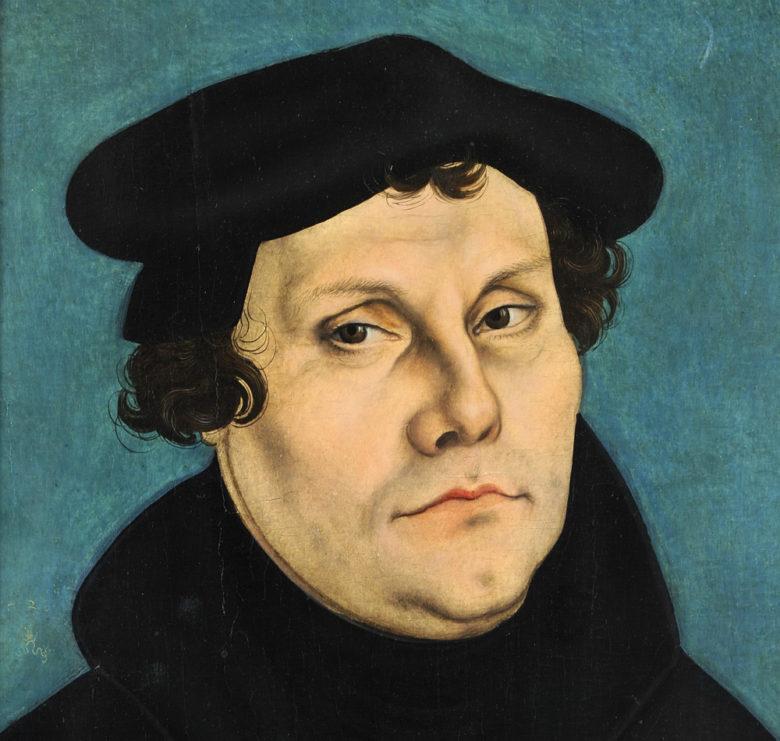 Martin-Luther-Bildnis von Lucas Cranach d.Ä.